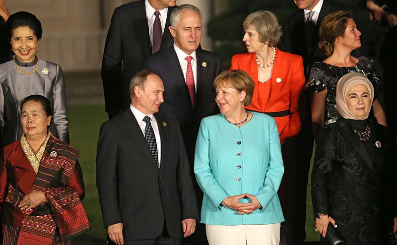 File:Putin and Merkel in China.jpg