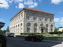 Putnam County Courthouse in Ottawa, southwestern angle.jpg