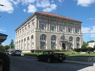 Ottawa, Ohio - Putnam County Courthouse, downtown