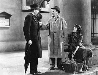 Pygmalion (1938 film) - Scott Sunderland, Leslie Howard and Wendy Hiller in Pygmalion