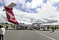 QantasLink (VH-QOP) Bombardier Dash 8 Q400 at the Canberra Airport open day (2).jpg