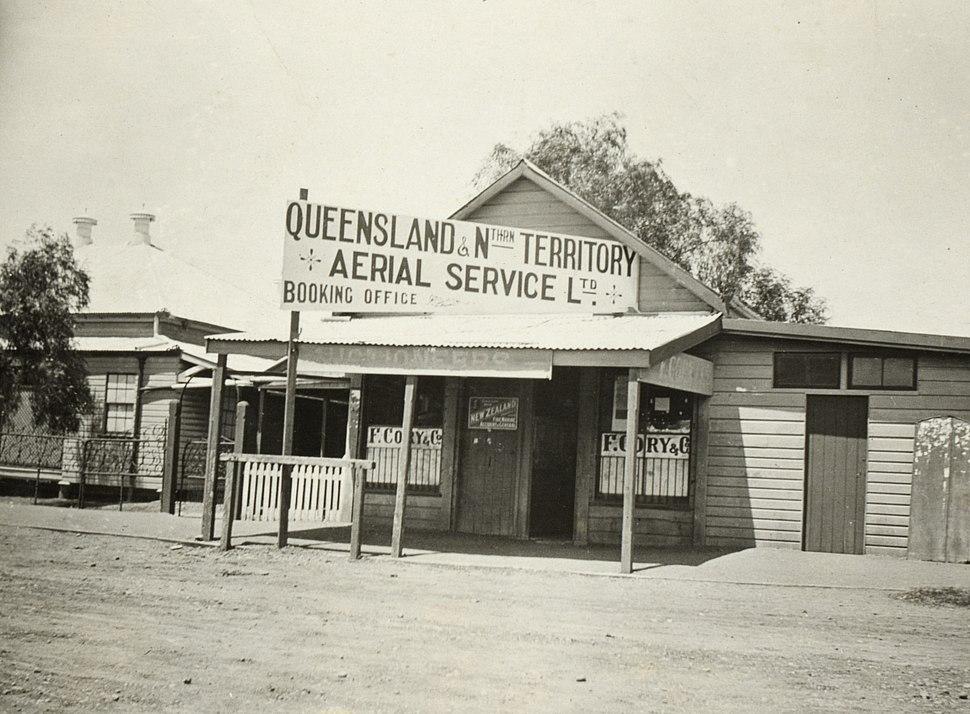 Qantas First Office Longreach Queensland 1921slnsw a1178007u