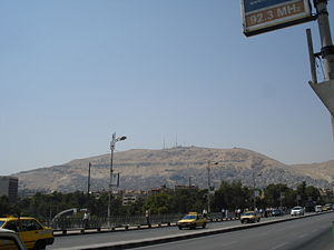 Usama ibn Munqidh - Mount Qasiyun in Damascus, where Usama was buried.