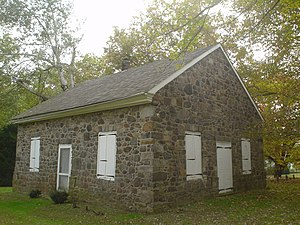 Friends meeting house - Chichester Friends Meeting House near Philadelphia, built 1769