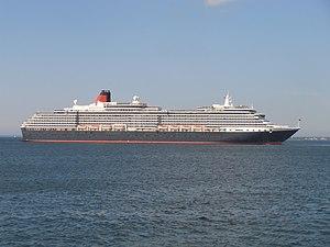 Queen Victoria Starboard Side 9 July 2012 Tallinn.JPG