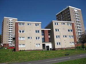 Beckett Park - Queenswood Drive flats