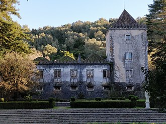 Quinta da Ribafria, Sintra - The palace, as seen from the front