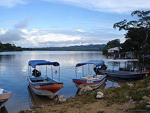 San Pedro River (Guatemala) - San Pedro River, at El Naranjo, Petén