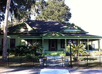 Fort Meade, Florida - W.O. Williams House/R.C. McClellan circa 1898