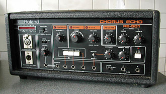 Echo chamber - The Roland RE-501 is an audio effects device capable of creating echo, chorus, reverb and sound on sound type effects