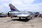 ROCAF Mirage 2000-5DI 2055 Display at Gangshan AFB Apron 20170812d.jpg
