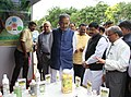 Radha Mohan Singh and the Minister of State for Petroleum and Natural Gas (Independent Charge), Shri Dharmendra Pradhan visiting the fair, on the occasion of the World Coconut Day and National Award distribution function.jpg