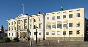 Gothenburg city hall - The Gothenburg City Hall, formerly law court.