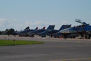 Radom Air Show 2009 Jet Fighters.jpg