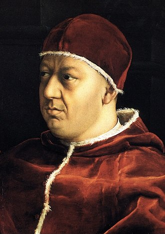 Pope Leo X - Image: Raffael 040 (crop)