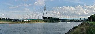 Neuwied - Raiffeisenbrücke between Neuwied and Weißenthurm