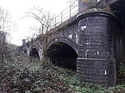 Rail bridge over the River Thames, carrying the Cherwell Valley line 05.jpg