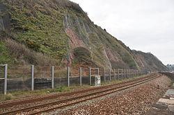 Railway on the sea wall at Teignmouth (0114).jpg