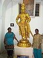 Raja rajan the great Statue in Thanjai Aranmanai.jpg