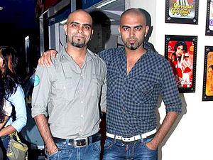 Raghu Ram - Raghu Ram (left) with his brother Rajiv