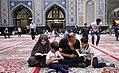 Ramadan 1439 AH, Qur'an reading at Goharshad Mosque, Mashhad - 29 May 2018 13.jpg