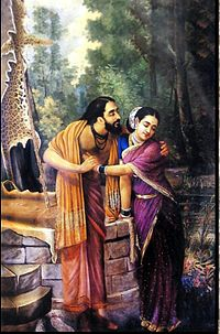 Ravi Varma-Arjuna and Subhadra