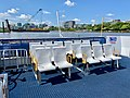 Rear seating at Nar-dha CityCat, Brisbane.jpg