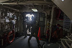 Recon Marines Fast Rope onto the USS Green Bay (LPD 20) 150310-M-CX588-121.jpg