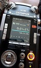 Recorder Olympus LS-100 - 2.jpg