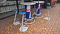 Red Bull-sponsored tables in Winschoten (2017).jpg