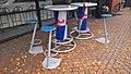 Red Bull-sponsored tables in Winschoten (2017).jpg