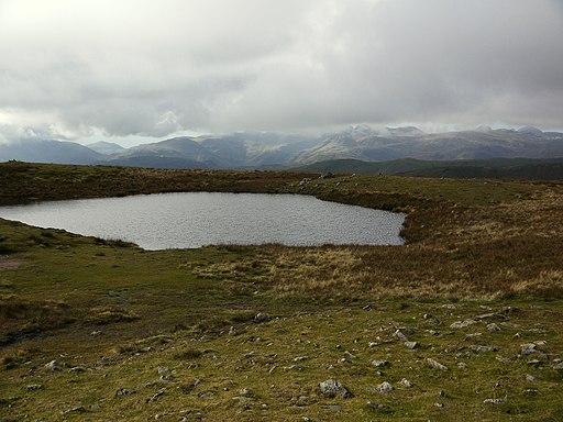 Red Screes - summit tarn