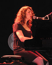 Spektor at her first performance in Tel Aviv, Israel on 2007-03-11.