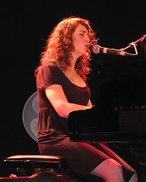 Regina Spektor in concert, Tel Aviv, Israel