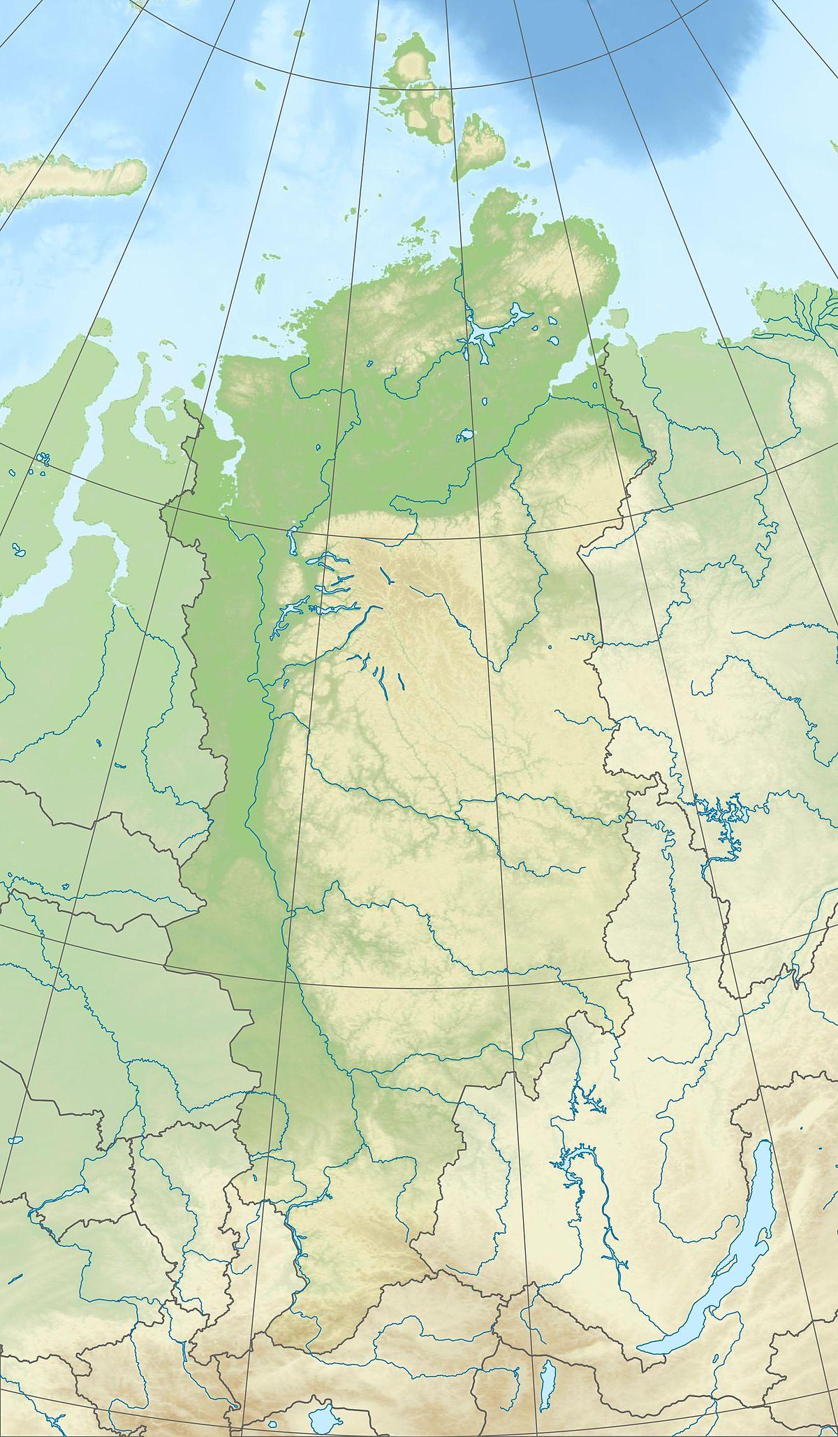 City map Krasnoyarsk Russia