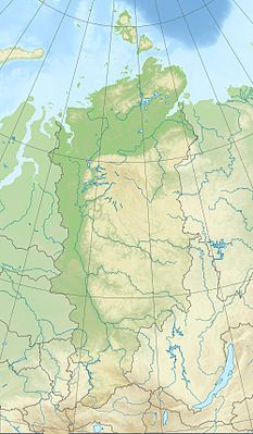 Location map Russia Krasnoyarsk Krai