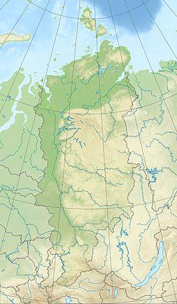 Morze Łaptiewów znajduje się w Kraju Krasnojarskim