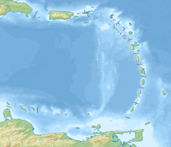 2007 Martinique earthquake is located in Lesser Antilles