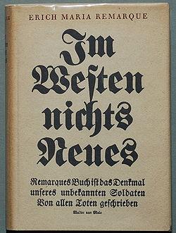 Image illustrative de l'article À l'Ouest, rien de nouveau