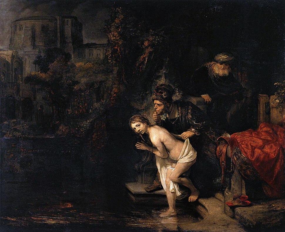 Rembrandt - Susanna and the Elders - WGA19104