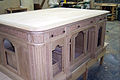 Resolute Desk replica by Eli Wilner & Company, for the George W. Bush Presidential Center.jpg