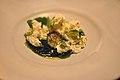 Restaurant Noma Hø-parfait med kamillegele og juice af havesyre (4959206509).jpg