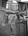 Restauratie oude kerk te Amsterdam, restauratie werkzaamheden in het gewelf van , Bestanddeelnr 910-2723.jpg