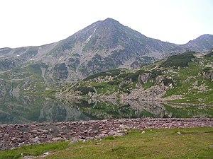 Retezat-Godeanu Mountains group - Bucura Lake, largest glacial lake in Romania