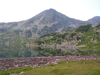 Retezat-Godeanu Mountains group - Bucura Lake, largest glacial lake in Romania