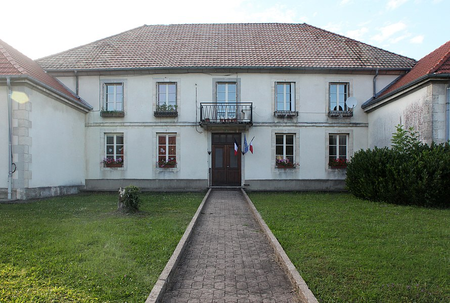 Mairie de Reugney (Doubs).