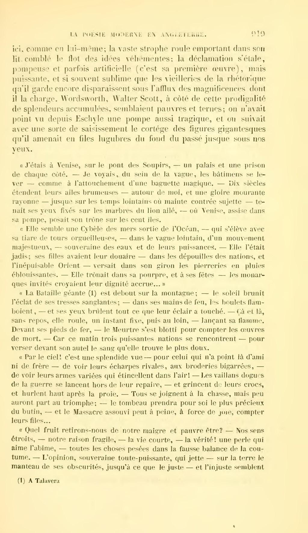 Page revue des deux mondes 1862 tome for Dans quel sens tourne la terre