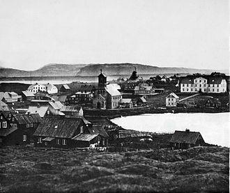 Reykjavík - Reykjavík in the 1860s