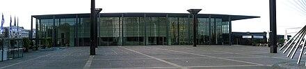 Mainz Rheingoldhalle Parken