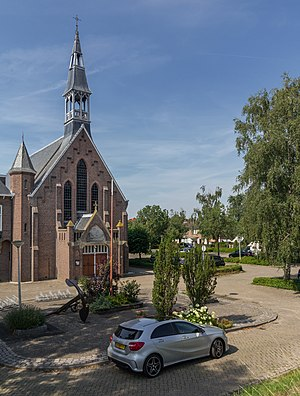 Rhoon - Image: Rhoon, de Sint Willibrorduskerk foto 2 2015 08 02 16.11